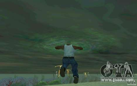 People are able to swim for GTA San Andreas third screenshot