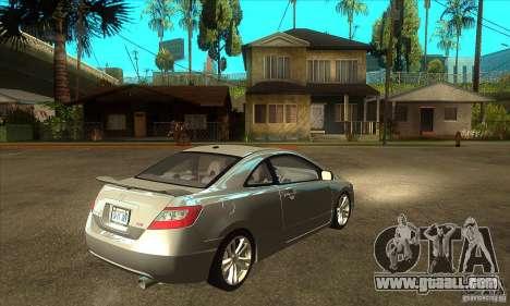 Honda Civic Si - Stock for GTA San Andreas right view