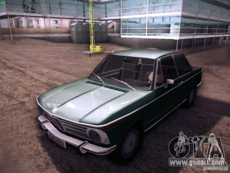 BMW 2002 1972 for GTA San Andreas left view
