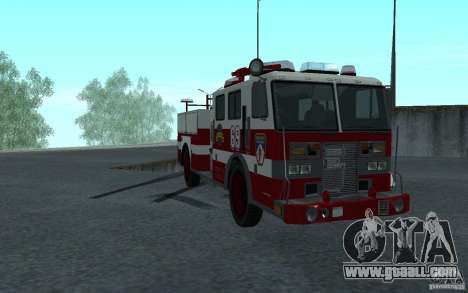 FIRETRUCK for GTA San Andreas
