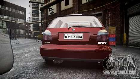 Volkswagen Golf MK3 GTI for GTA 4 side view