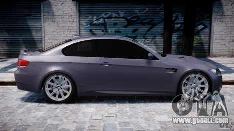 BMW M3 E92 stock for GTA 4 interior