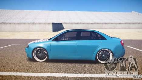 Audi S4 Custom for GTA 4 left view
