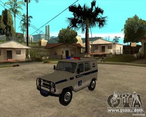 UAZ 31514 patrol for GTA San Andreas