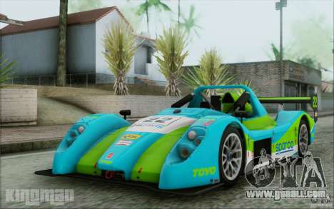 Radical SR3 RS 2009 for GTA San Andreas side view
