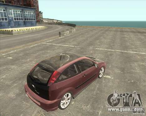 Ford Focus SVT for GTA San Andreas left view