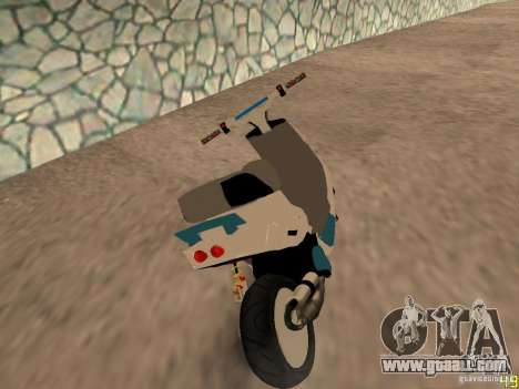 MBK Booster for GTA San Andreas left view