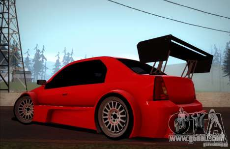 Dacia Logan Trophy Edition 2005 for GTA San Andreas left view