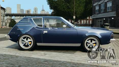 AMC Gremlin 1973 for GTA 4 left view