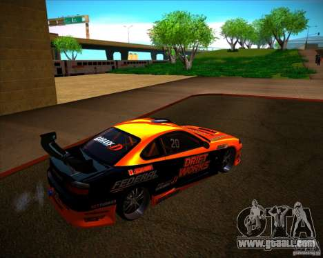 Nissan Silvia S15 Drift Works for GTA San Andreas right view