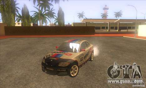 BMW 135i (E82) for GTA San Andreas side view