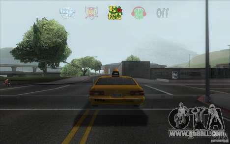 Radio Hud IV for GTA San Andreas