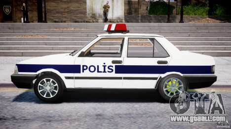 Tofas Sahin Turkish Police v1.0 for GTA 4 left view