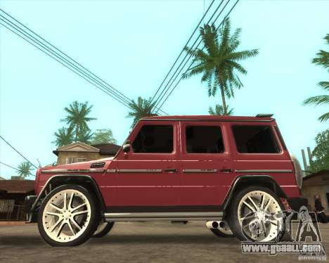Mercedes Benz G500 A_R_T for GTA San Andreas left view