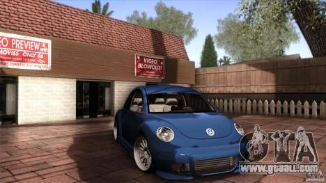 Volkswagen Beetle RSi Tuned for GTA San Andreas left view