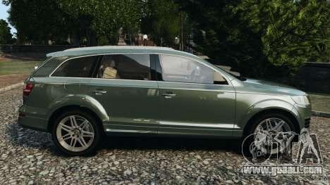 Audi Q7 V12 TDI v1.1 for GTA 4 left view