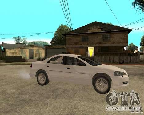 GAZ Volga Siber 2.5 AT for GTA San Andreas right view
