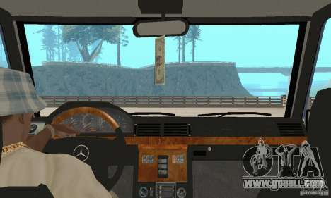 Mercedes-Benz G500 1999 v 1.1 no kengurâtnika for GTA San Andreas inner view