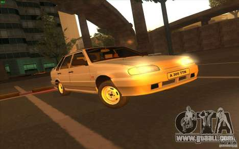 VAZ 2115 Stock v1.0 for GTA San Andreas