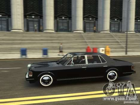 Rolls-Royce Silver Spirit 1990 for GTA 4 back view