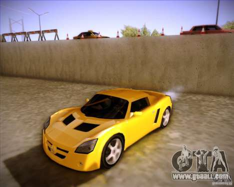 Opel Speedster for GTA San Andreas
