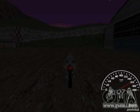 Speedometer 0.5 beta for GTA San Andreas third screenshot