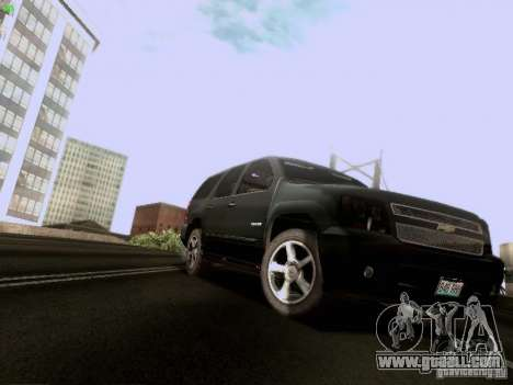 Chevrolet Tahoe 2009 Unmarked for GTA San Andreas left view