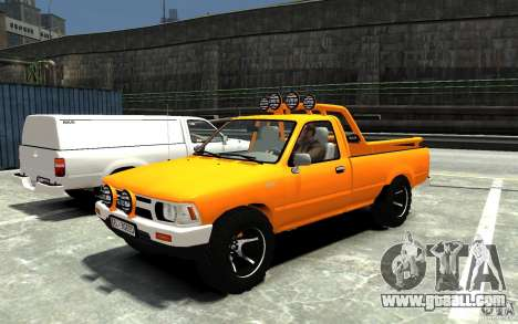 Toyota Hilux 1989-1993 Single cab v1 for GTA 4