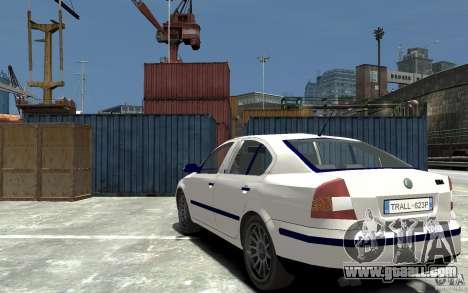 Skoda Octavia II 2005 for GTA 4 back left view
