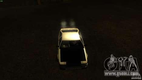 Toyota AE86 Trueno Touge Drift for GTA San Andreas back view