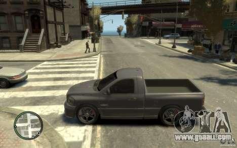 Dodge Ram SRT10 for GTA 4 left view