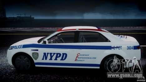 Carbon Motors E7 Concept Interceptor NYPD [ELS] for GTA 4 wheels