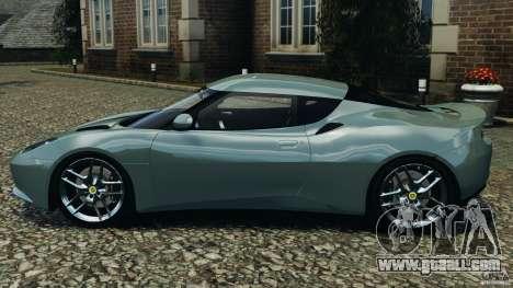 Lotus Evora 2009 v1.0 for GTA 4 left view