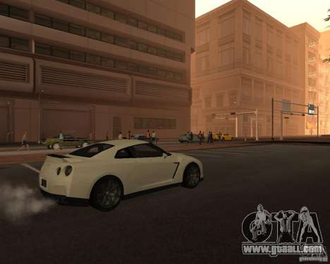 Nissan GT-R Pronto for GTA San Andreas back left view