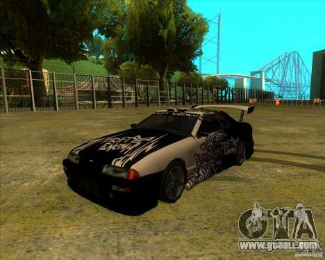 Elegy with new spoilers for GTA San Andreas left view