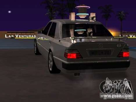 Mercedes-Benz E500 Taxi 1 for GTA San Andreas right view