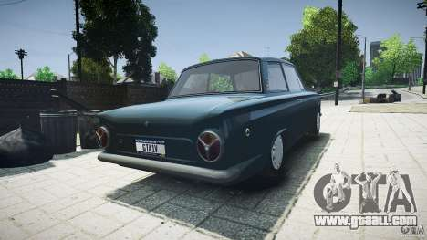 Lotus Cortina S 1963 for GTA 4 back left view