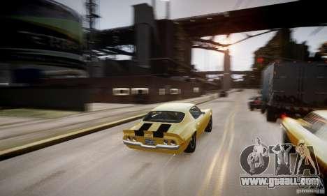 Chevrolet Camaro Z28 for GTA 4 engine
