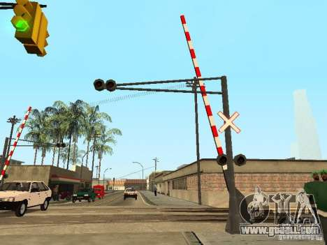 RAILWAY Crossing RUS for GTA San Andreas second screenshot