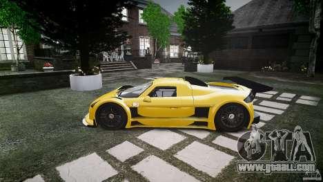 Gumpert Apollo Sport v1 2010 for GTA 4 back left view