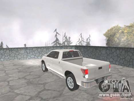 Toyota Tundra for GTA San Andreas left view