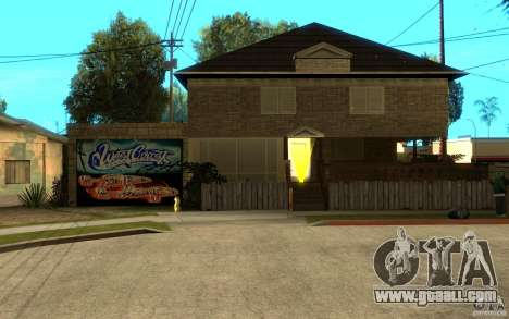 New great cjs house for GTA San Andreas