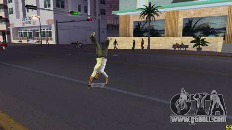 Cleo Parkour v4 for GTA Vice City third screenshot