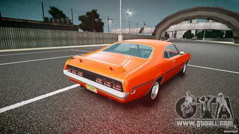 Mercury Cyclone Spoiler 1970 for GTA 4 back left view