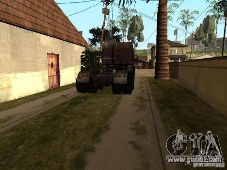 KAMAZ 5410 for GTA San Andreas left view