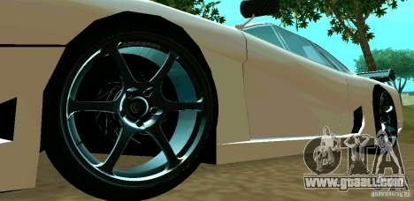 New Turismo for GTA San Andreas inner view
