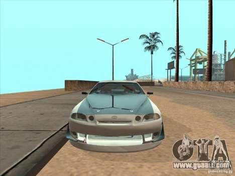 Toyota Soarer (JZZ30) for GTA San Andreas back view