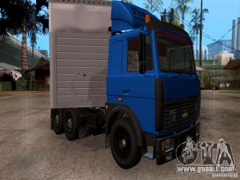 MAZ 642208 for GTA San Andreas left view