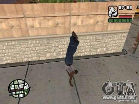 PARKoUR for GTA San Andreas