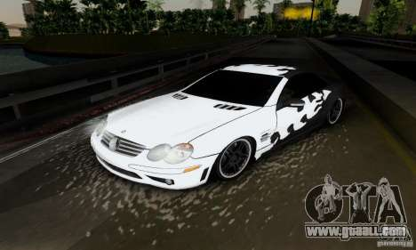Mercedes Benz SL 65 AMG for GTA San Andreas inner view
